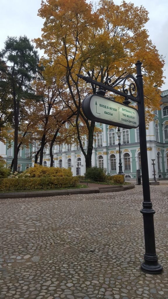 City-trip Saint-Petersbourg Ermitage