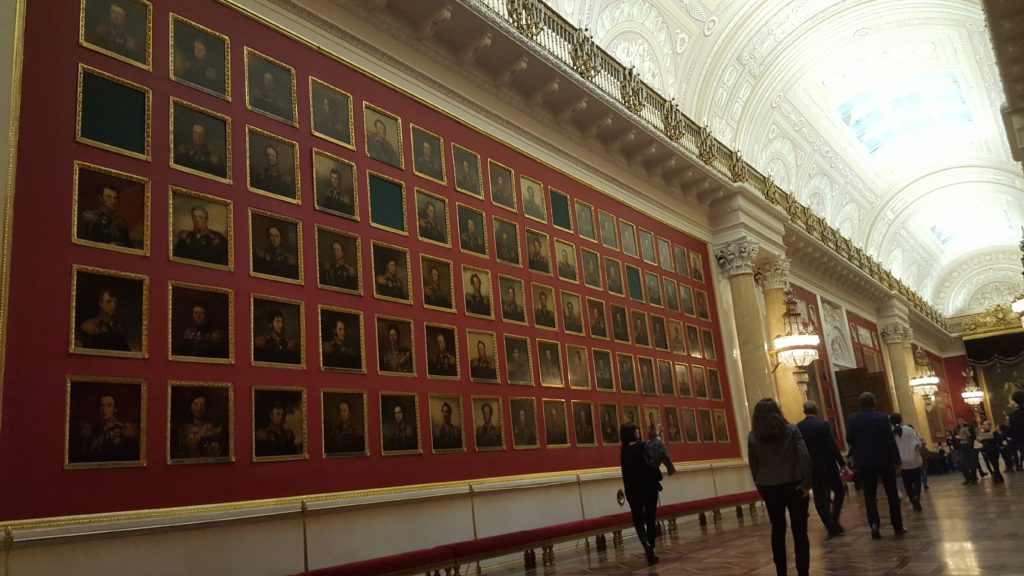Mur Tinder musée Ermitage Saint-Petersbourg Lau à la menthe