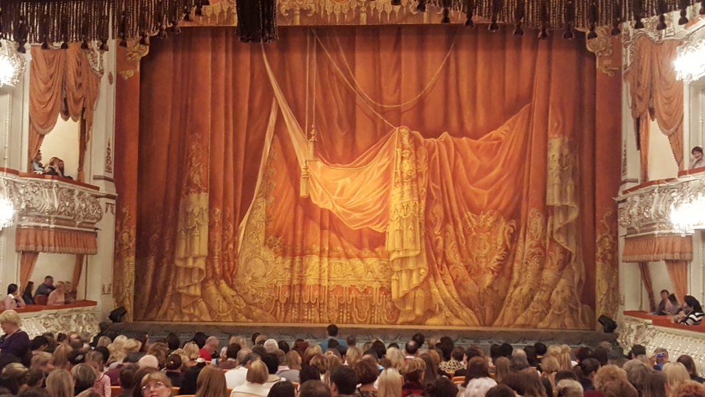 Représentation de la Belle au bois dormant au théâtre mikhailovsky saint petersburg