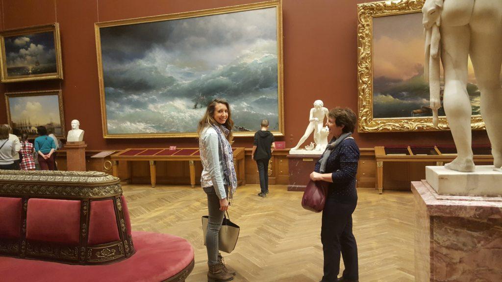 Visite du musée russe city-trip à Saint-Petersbourg Lau à la menthe