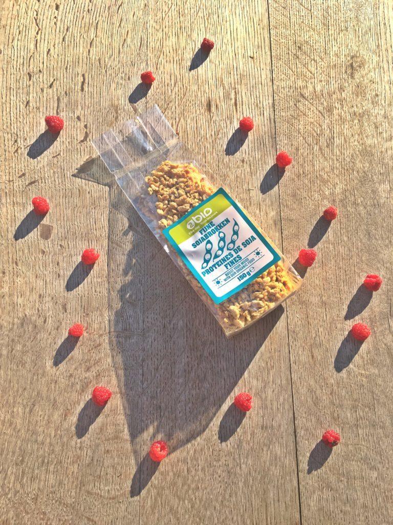 Sachet de protéines de soja texturées bio pour sauce bolognaise vegan