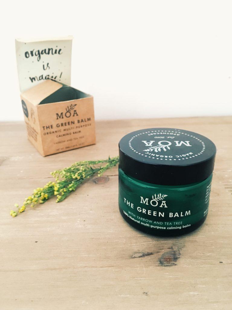 The Green Balm (MOA), un baume bio multifonctions pour lutter contre l'eczéma et les maux de peau