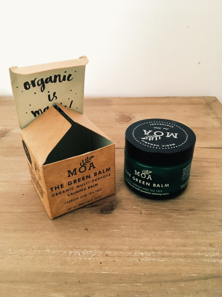 Baume multi usages cicatrisant et apaisant pour la peau, lutter contre l'eczéma the green balm par MOA