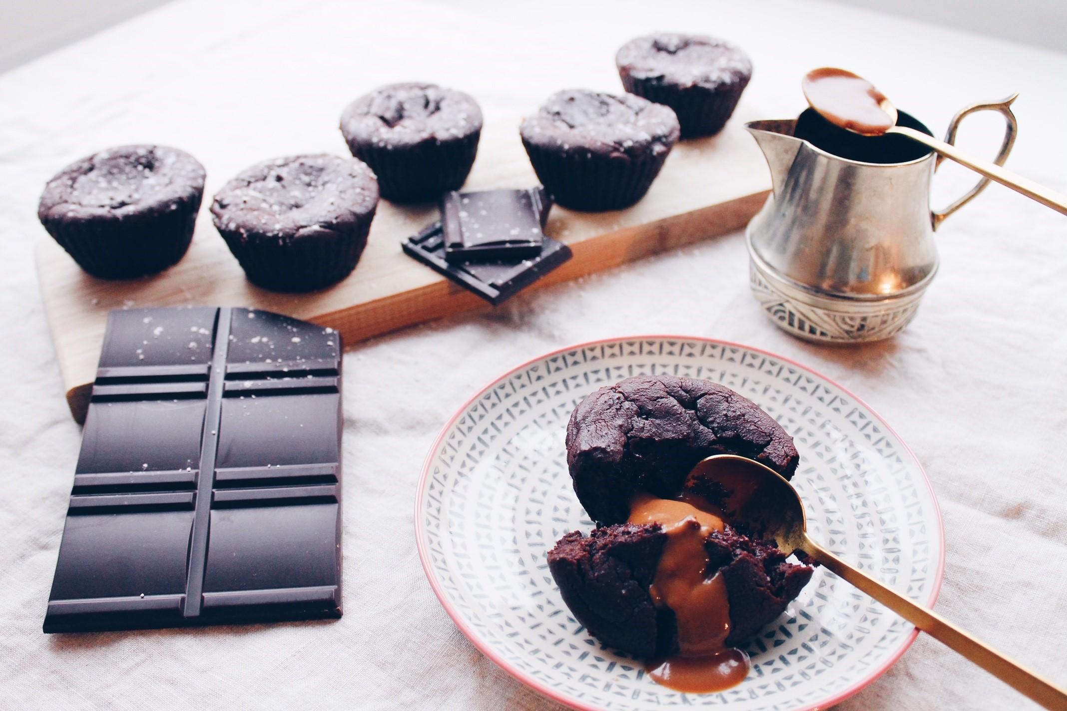 Recette de moelleux au chocolat vegan extra moelleux au chocolat noir et végétalien sur le blog laualamenthe.com