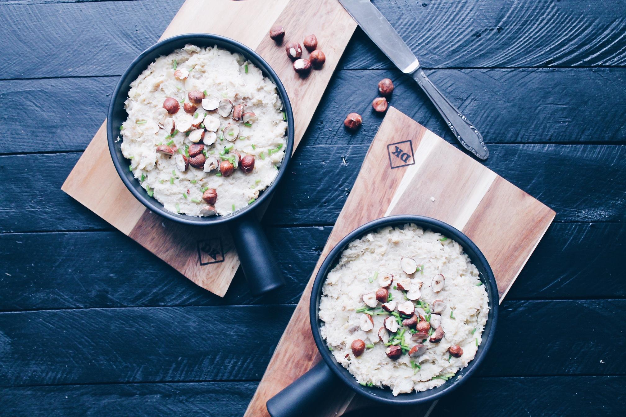 Recette de parmentier à la purée de panais et de céleri-rave, moutarde et protéines de soja sur le blog laualamenthe.com