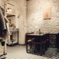 Intérieur de La Piola Pizza à Saint-Josse, Bruxelles. Pizzeria napolitaine.