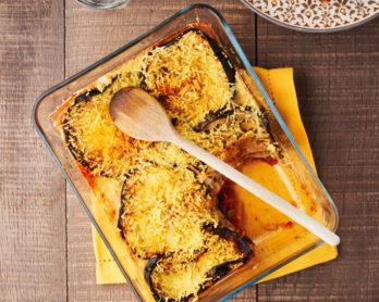 Lasagne d'été aux aubergines grillées